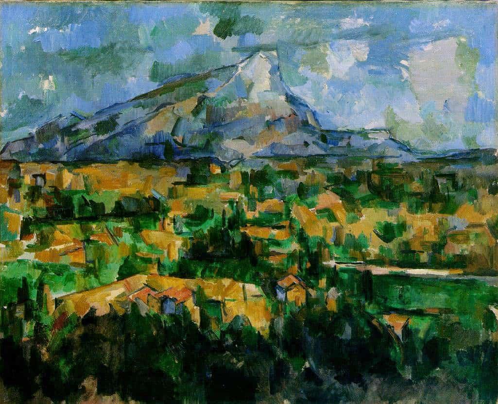 Figure 2. Mont-Sainte-Victorie. Cezanne