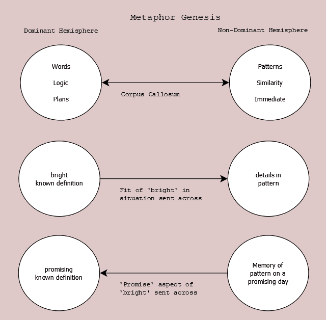 Figure 23.6 Metaphors in Cognitive Process