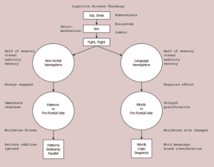 Cognitive process thinking