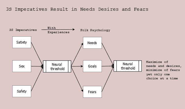 Figure 11.3 3S Imperatives give rise to needs, desires, and fears